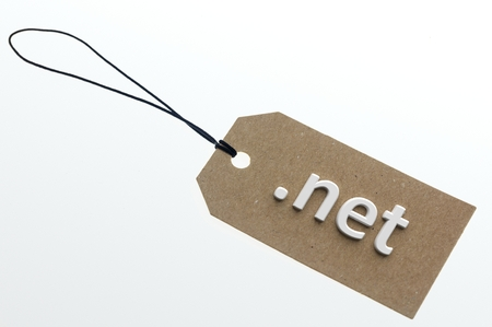site backgrounds: net link  on cardboard label.Isolated