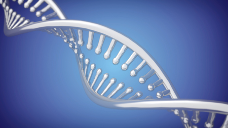 dna double helix: DNA Double Helix closeup background. 3D rendering