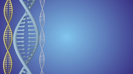 dna double helix: DNA Double Helix abstract background. 3D rendering