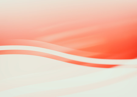 Red wavy abstract background.