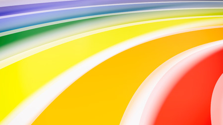 rainbow colors: 3d rendering abstract rainbow colors background