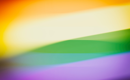 3d rendering abstract rainbow colors background