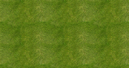 Soccer football field grass background, top view Stock Photo