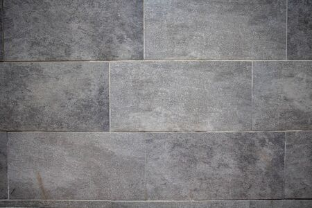 Vintage gray color marble stone floor background and texture, outdoor flooring grunge material