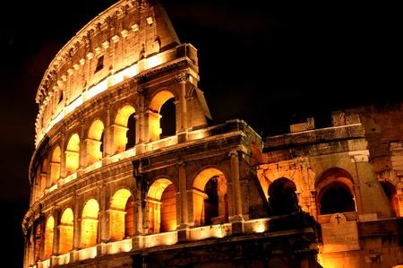 amphitheatre: Flavian Amphitheatre Stock Photo