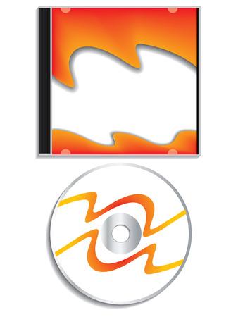 cd case: CD con el caso  Vectores