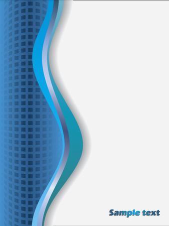 Bleu texturé Vecteurs