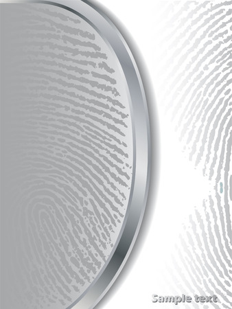 bifurcation: Fading gray fingerprints