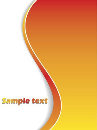 Orange colored background  Stock Vector - 6621562