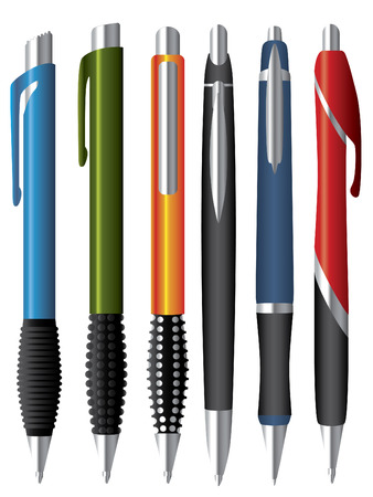 ball pen: Various ballpens