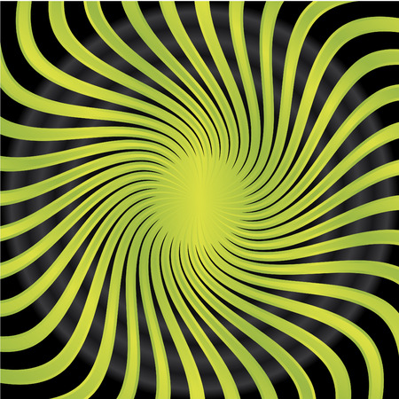 Abstract green twirl Stock Vector - 6655524
