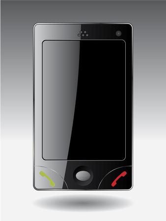 Mobile phone handset Stock Vector - 6655616