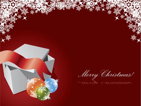 Christmas postcard Stock Vector - 6655700