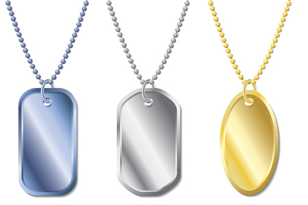 Dogtags Stock Vector - 6655773