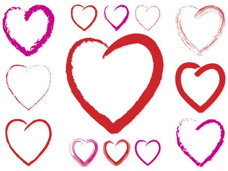 Valentine Hearts Stock Vector - 6688275