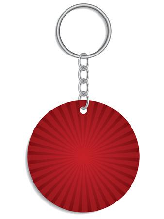 keyholder: Red Keyholder Illustration