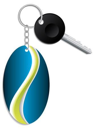 keyholder: Key and keyholder