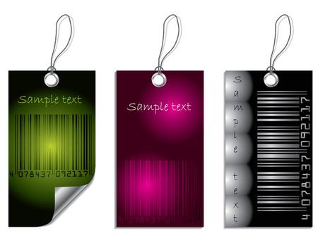 barcode scanning: Bar-code label set