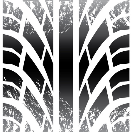Tire close-up  Vector