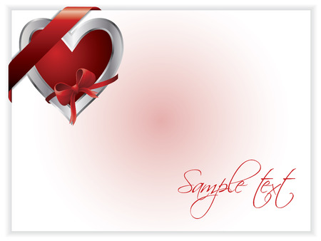 Valentine day card 2 Stock Vector - 6767065