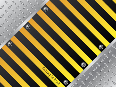 Steel plate background Stock Vector - 6767112