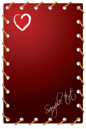 roped: Roped Valentine card