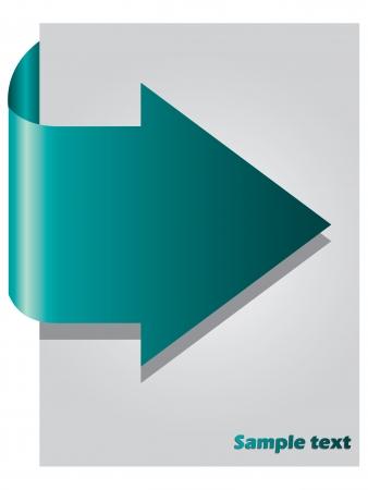 Arrow presentation  Vector