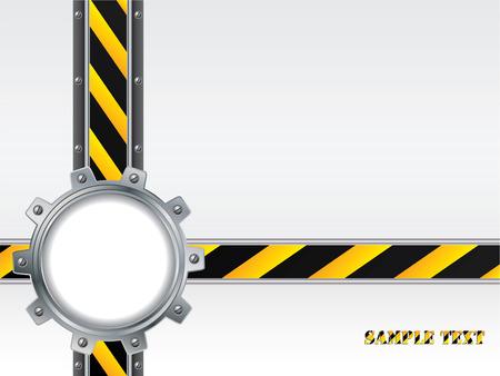 cogwheel: Tech backdrop with cogwheel