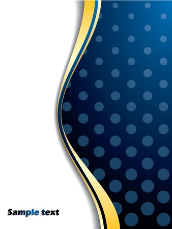 Blue backdrop with lighter dots Stock Photo - 7001842
