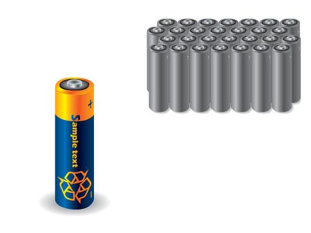 reciclable: Bater�a reciclables vs antigua bater�as