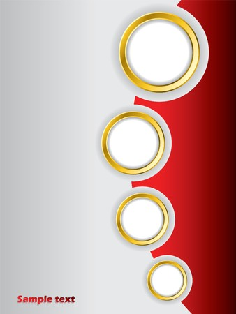 Red brochure design background template Stock Photo - 7173614