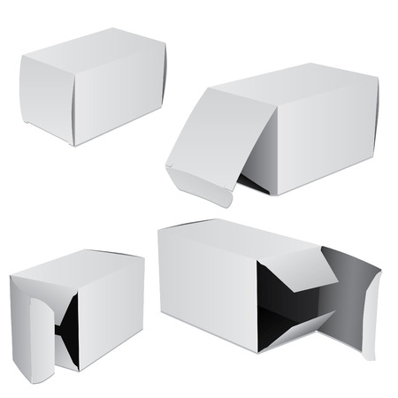 packer: Set of four boxes
