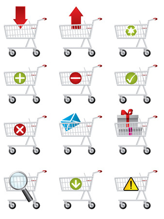 add to shopping cart icon: Shopping cart icons
