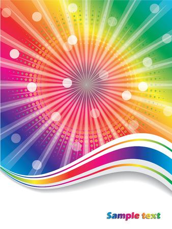 Olas de arco iris