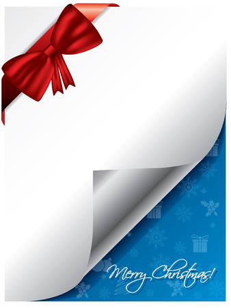 Gift card for christmas Vector