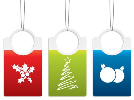 Christmas label designs Stock Vector - 8313386
