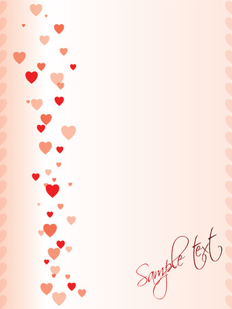 Valentine day greeting design Stock Vector - 8571329