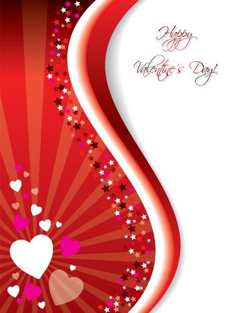 uitnodigen: Barsten Valentine card