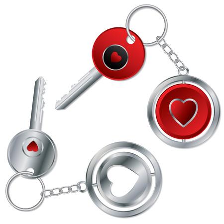 keyholder: Valentine keyholder design