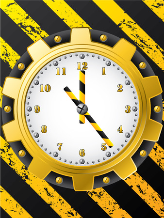 Construction watch design Vector