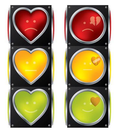 traffic control: Sem�foro de amor