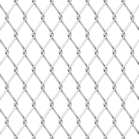 Vector wire fence Vector