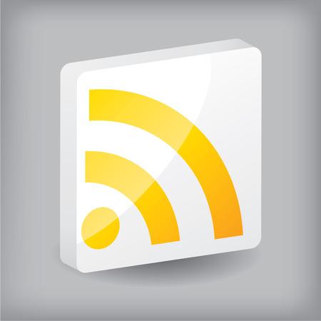blogged: Rss button design