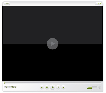 player buttons: Media player design