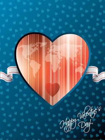Happy valentine Stock Vector - 11943955