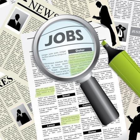 them: Alla ricerca di un posto di lavoro di marcatura con pennarello