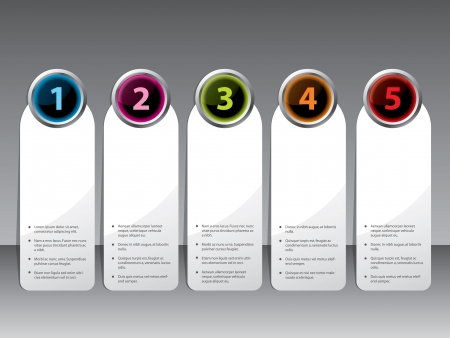 shiny buttons: New label set with shiny color buttons