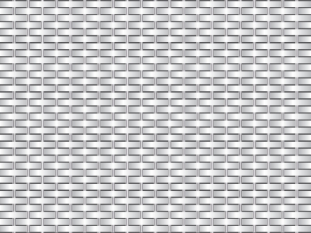 Grid like texture design with metal bars Vector