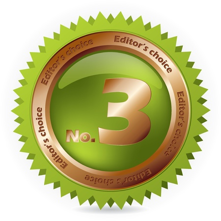 editors: Green bronze badge fo third place editors choice