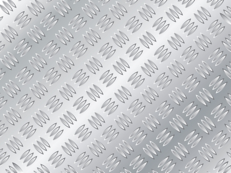 hardened: Abstract background metallic plate pattern design  Illustration